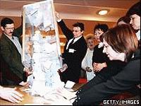 Юшченко официално бе обявен за президент на Украйна