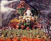Наоми Кембъл- изненадата на карнавала в Рио