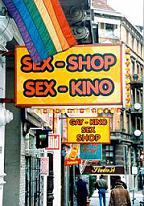"Десет секс-шопа на варшавската улица ""Папа Йоан Павел II"""