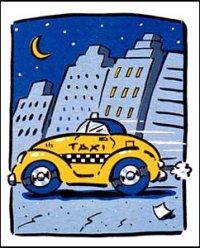 Гошо, le taxi