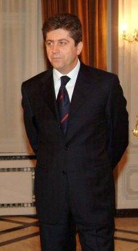 Георги Първанов е на двудневно посещение във Ватикана и Рим