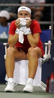 Светлана Кузнецова отпадна във втория кръг на JPMorgan Chase