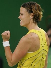Линдзи Дейвънпорт на победа от No. 1 в света