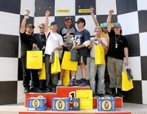 Красимир Цолов от списание Club F1 е победител в DUNLOP KARTING CUP