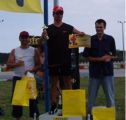 Николай Димитров е победител във втората серия на DUNLOP KARTING CUP