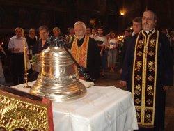 Илия Луков дари 147-килограмова камбана на нашенци в Албания