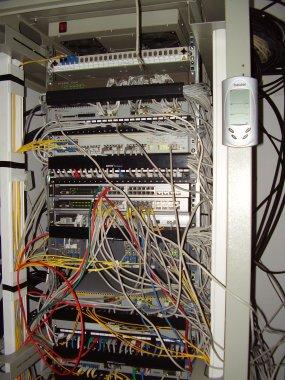 LAN-ted. Кой ми е рязал кабелчето?