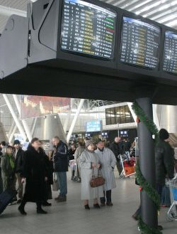 Летище Варна е затворено, влаковете закъсняват
