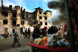 Град Грозни бил възстановен наполовина