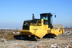 Нова модерна машина на сметището в Суходол