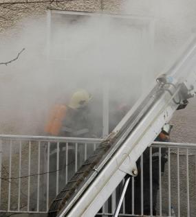 Пожар на пъпа на София, две жени в болница