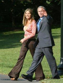 Джена Буш - поразителна булка, според баща й