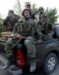 Обявиха военно положение в част от Абхазия