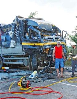 Девет ранени при тежка катастрофа край Айтос