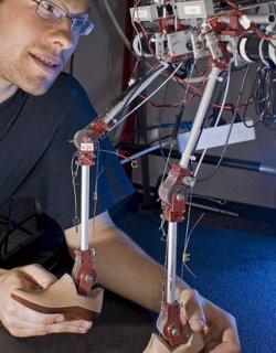 Миши мозък раздвижи робот