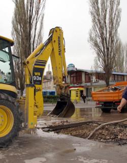 Авария на водопровод остави Люлин 1 и 2 без вода