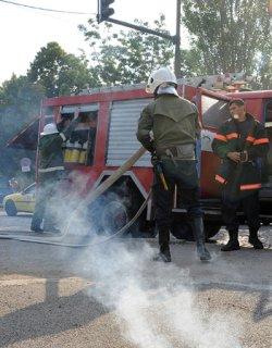 Кола се запали в София