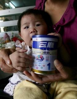 Откриха меламин и в други продукти в Китай
