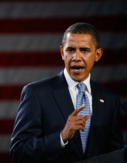 Обама гласува