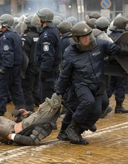 Починал автокрадец в ІV РПУ всъщност бил от протестиращите
