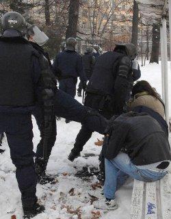 В рамките на необходимото, така МВР ще охранява утрешния протест