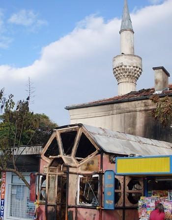 Джамията в Благоевград не била палена