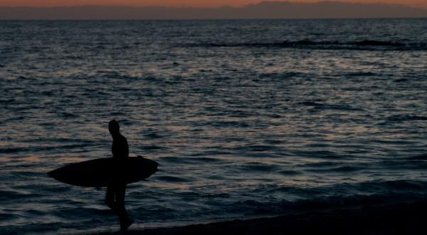 Сърфист фрасна акула, грабна дъската и отпраши