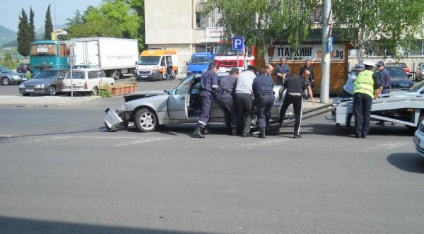 Пак катастрофа с автомобил на НСО