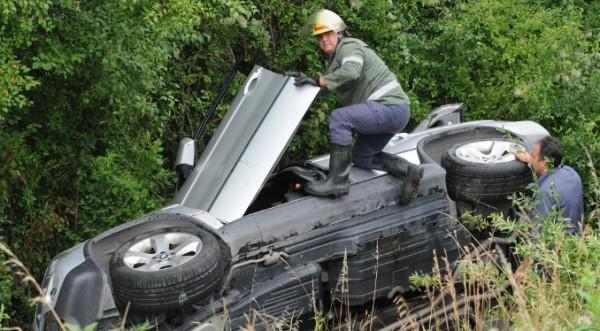 Две коли една след друга не взеха завой на Околовръстното в София