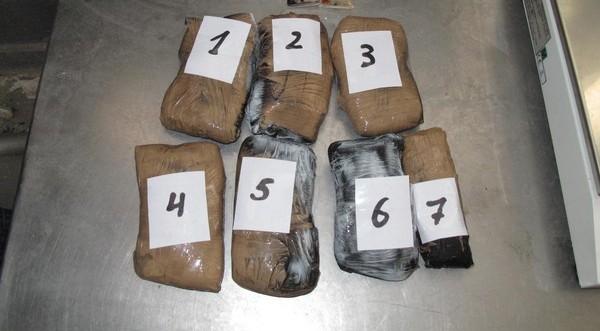 Спипаха чех с кило и половина хероин на ГКПП-Видин