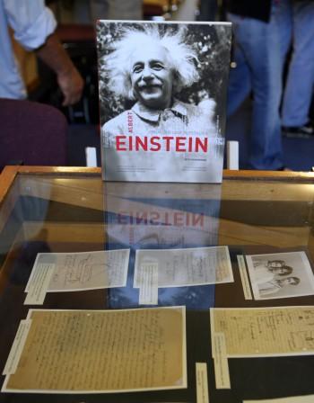 Пускат на търг писма от Айнщайн