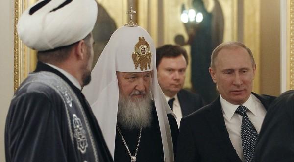 Руският патриарх нарече Божие чудо управлението на Путин