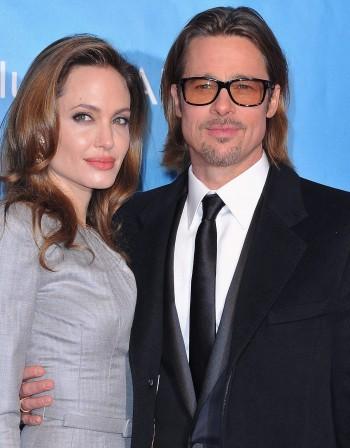Анджелина Джоли и Брад Пит в Сараево