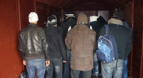 Спипаха 8 иракчани, опитали да преминат нелегално границата
