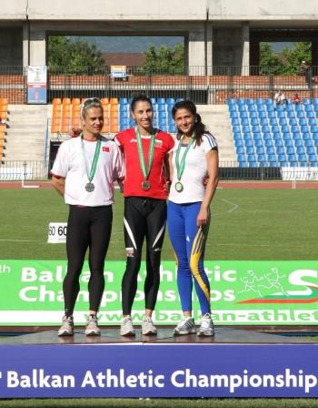Силно представяне на българските атлети на Балканиадата