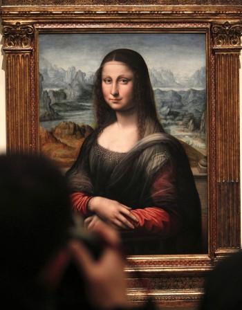 """Да копираш """"Мона Лиза"""""""