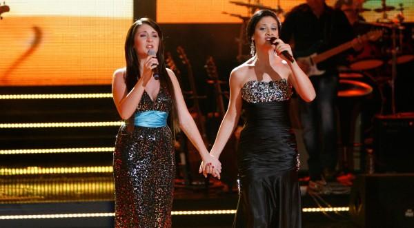 Мариана Попова беквокал на Евровизия