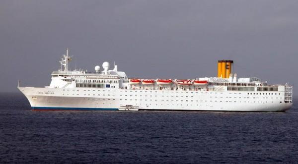 Пожар избухна на круизен кораб край Сейшелите