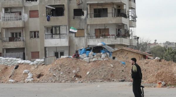 7000 сирийски войници прочистват квартал в град Хомс