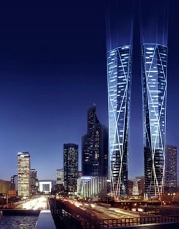 Най-високите кули-близнаци в Европа ще са в Париж