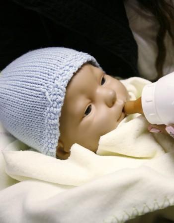 Подсладената вода действа като болкоуспокояващо при новородените