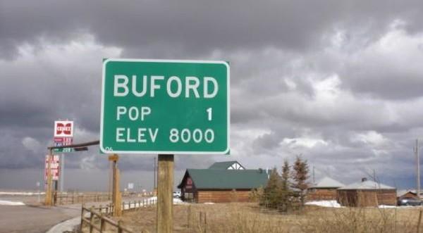 Безлюден Бъфорд за $100 000