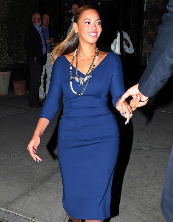 Бионсе сложи рокля на Бекъм за среща с Мишел Обама
