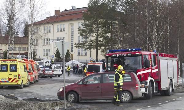 Неизвестен откри огън в училище във Финландия