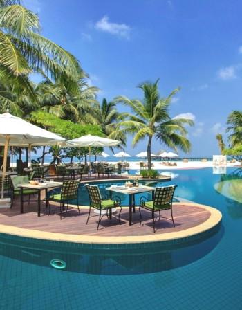 Корабокрушенски лукс на Малдивите