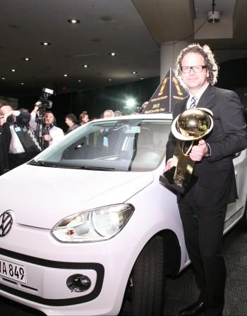 Volkswagen up! стана автомобил на годината за 2012