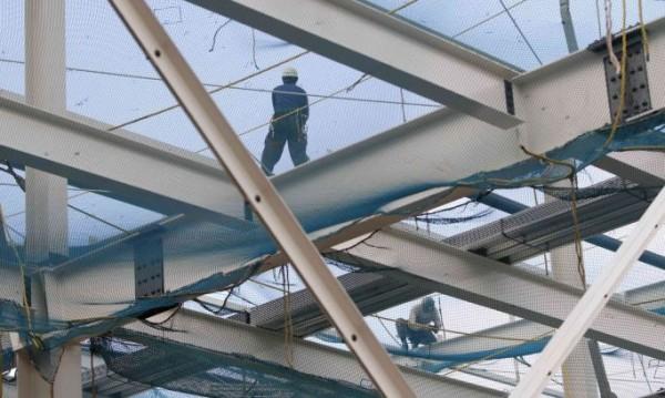 Спадът в строителството се задълбочава през февруари