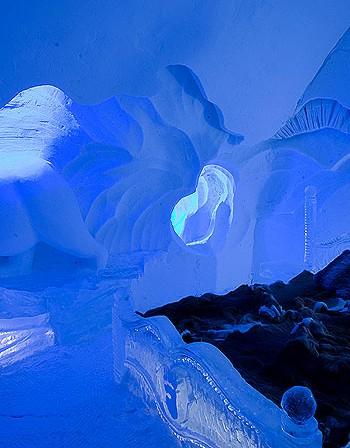 Hotel de Glace – леденият хотел в Квебек