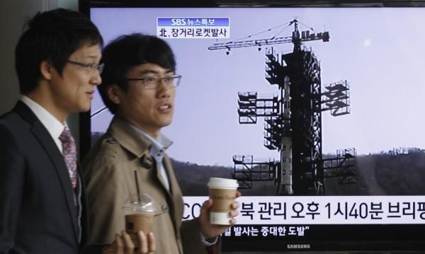 Неуспешно изстрелване на севернокорейската ракета