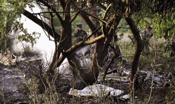 Хеликоптер падна в Колумбия, загинаха 13 души